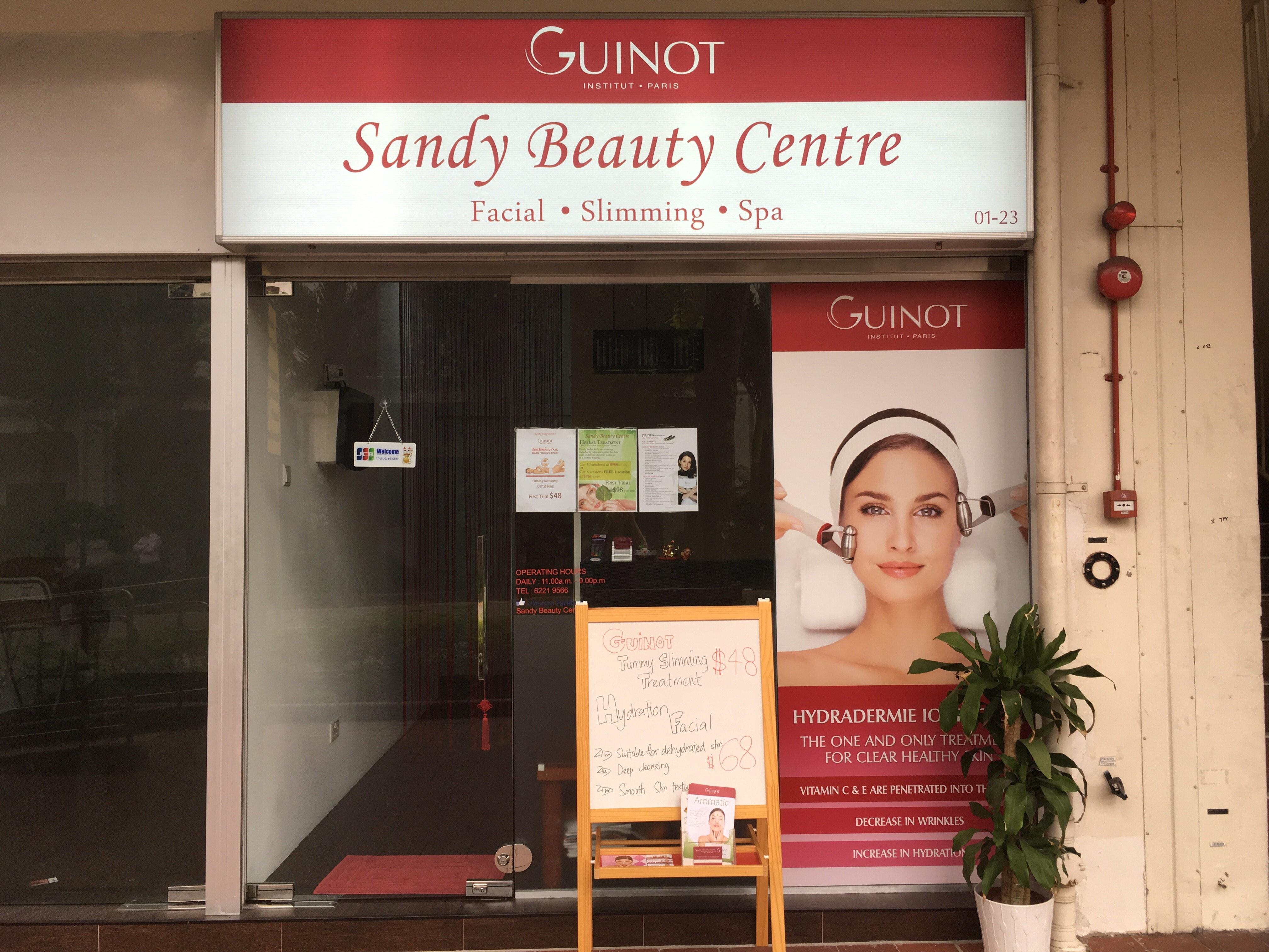 sandy beauty slimming spa metoda de pierdere în greutate a experimentului de coroziune