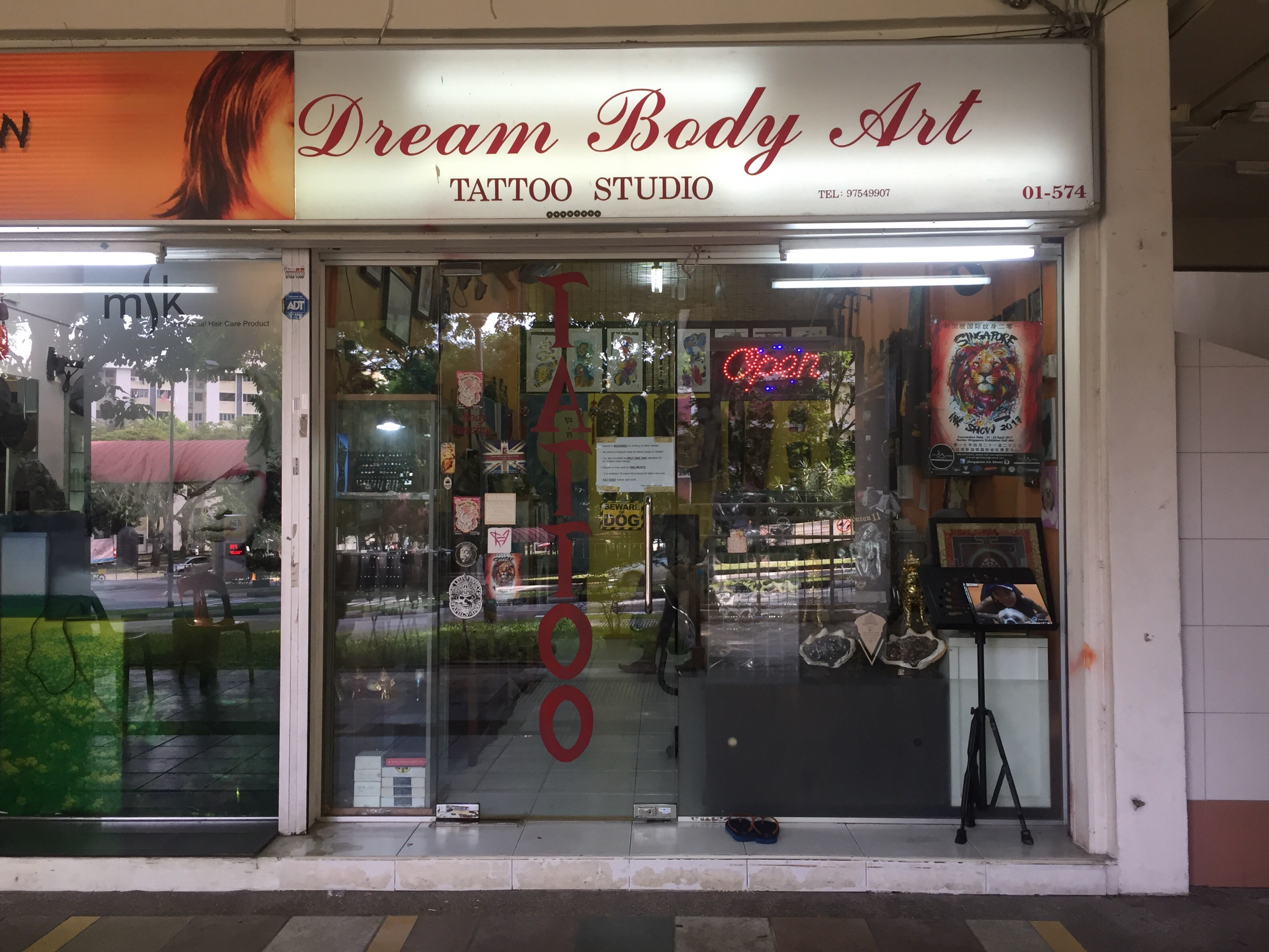 Singapore Service Other Dream Body Art Tattoo Studio Nestia