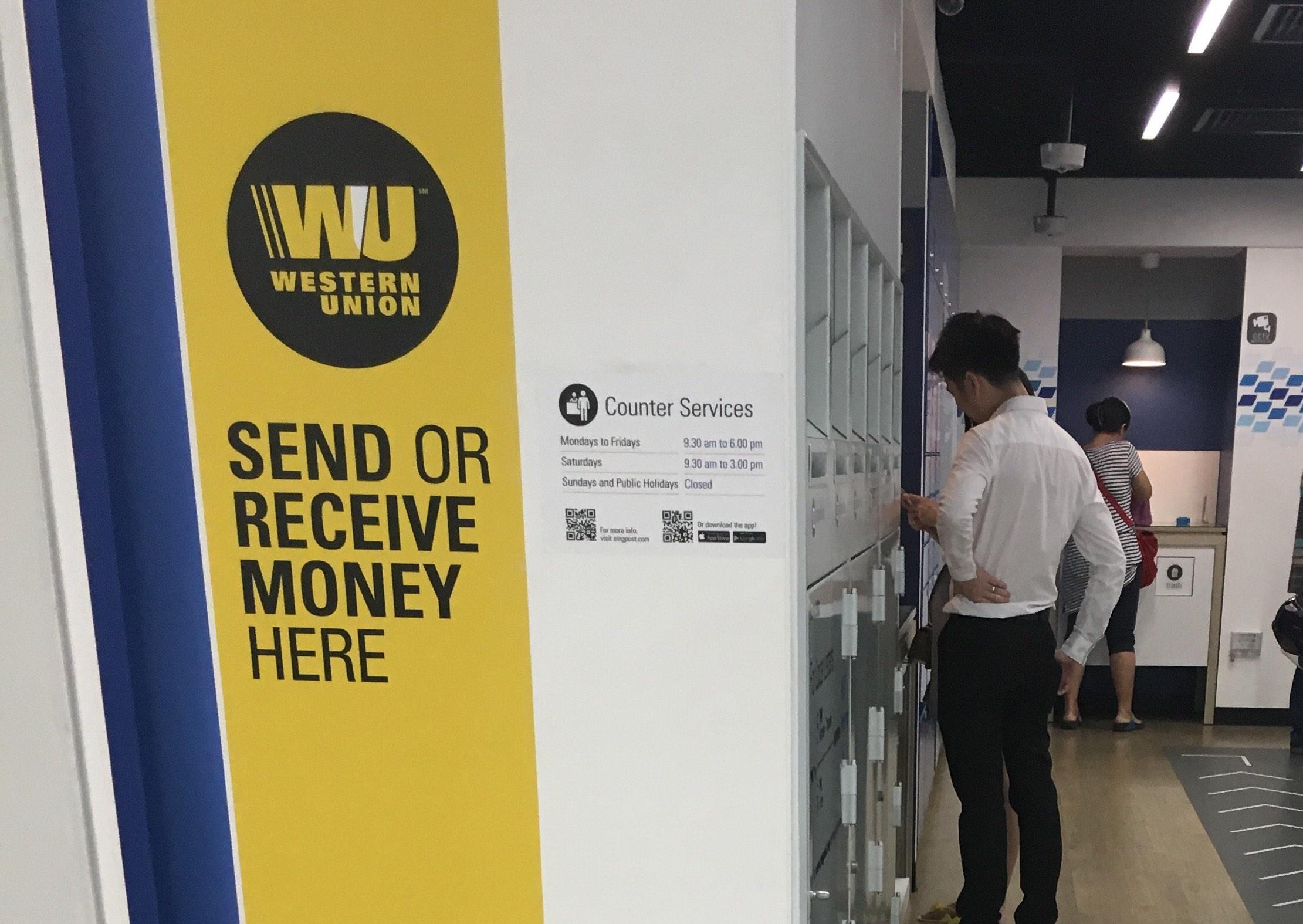 Western union singapore
