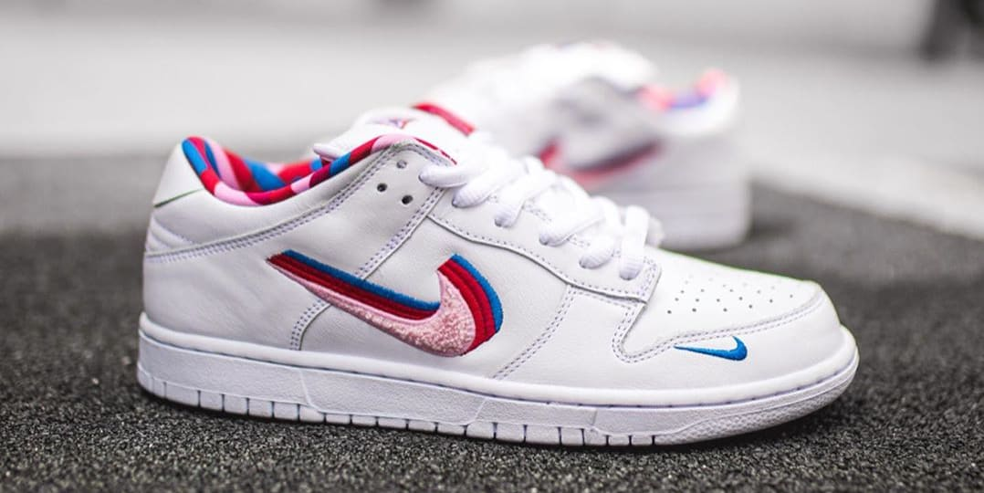 Excéntrico Humano hipocresía  The Parra x Nike SB Dunk Low Drops This Month | Nestia