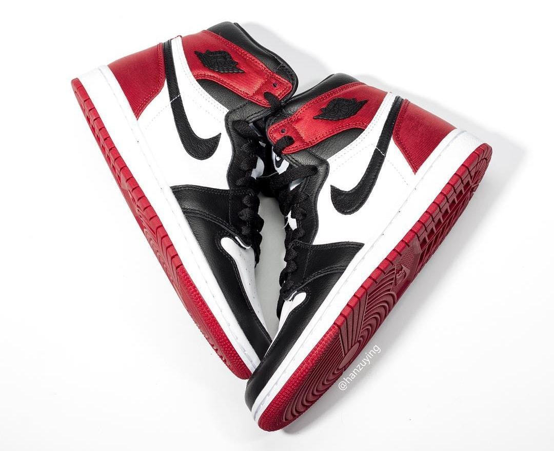 Satin Black Toe' Air Jordan 1s Drop Soon
