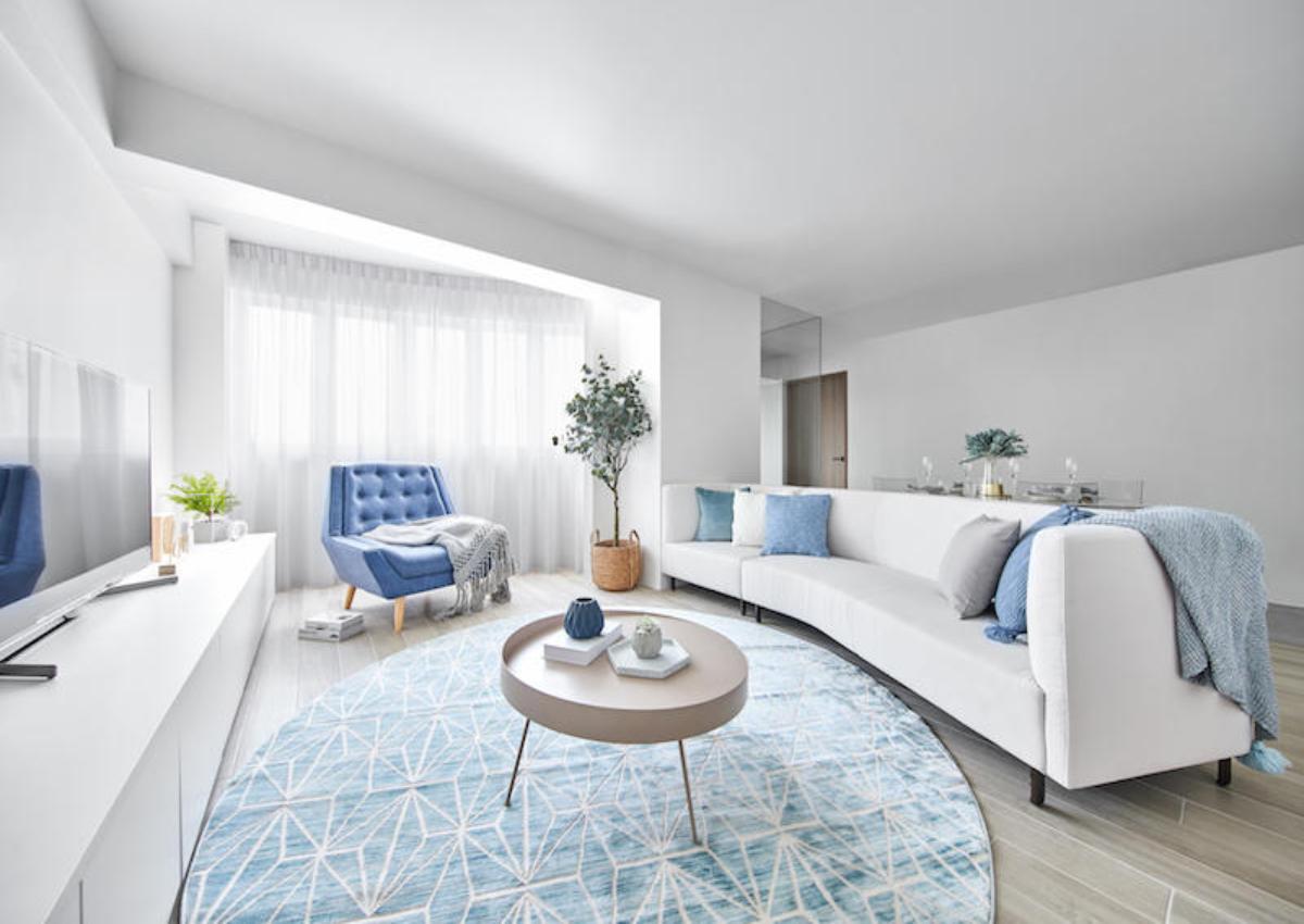 House Tour Spacious White And Bright 5 Room Hdb Resale Flat In Sengkang Nestia