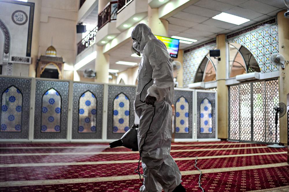 شركة تعقيم المساجد