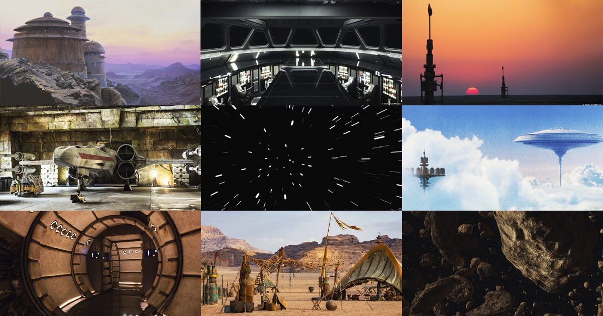 Star Wars Releases Official Background Images To Be Used On Video Calls Nestia